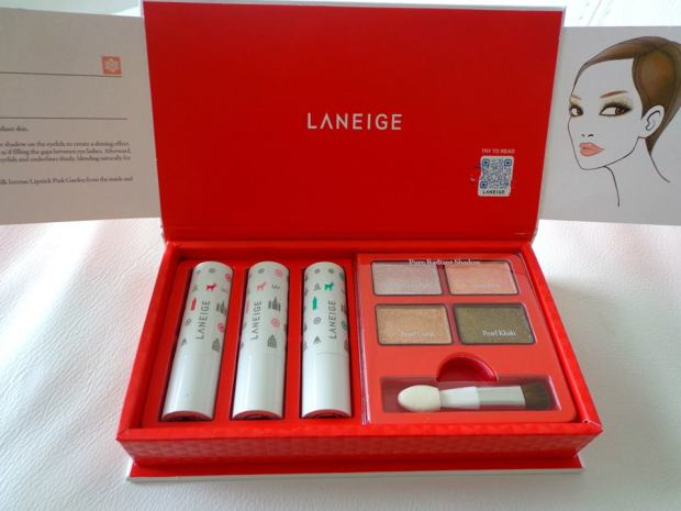 laneige winterland magic makeup5
