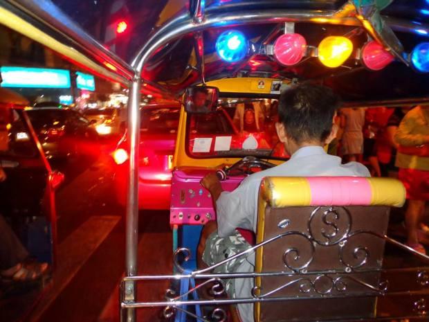 Thailand Bangkok tuc tuc