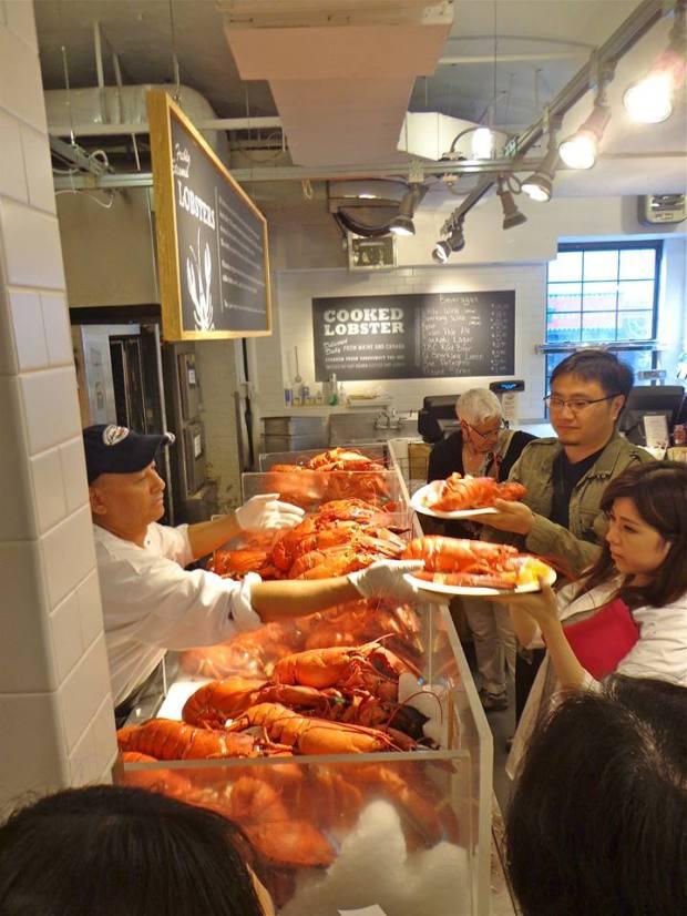 Chelsea Market New York Manhattan Cooked Lobster