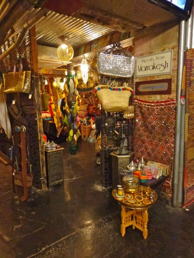 Chelsea Market New York Manhattan Marrakesh Middle East