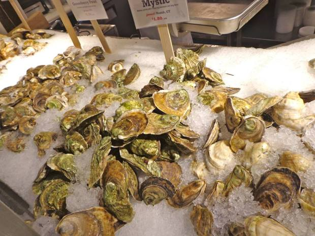 Chelsea Market New York Manhattan Oysters