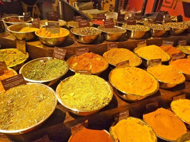 Chelsea Market New York Manhattan Spices Food