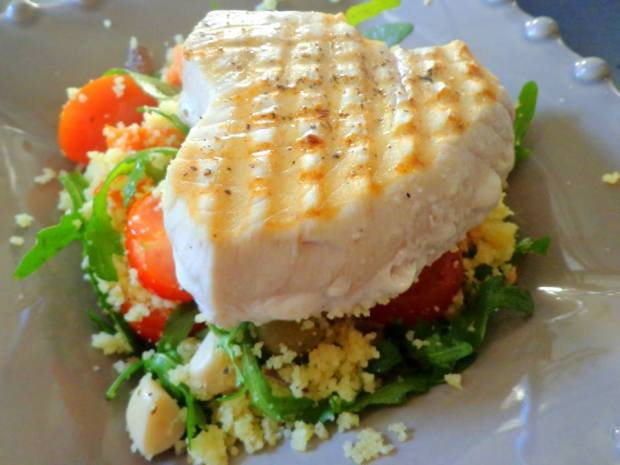 Cous Cous Tuna Salad Fish Recipe 7