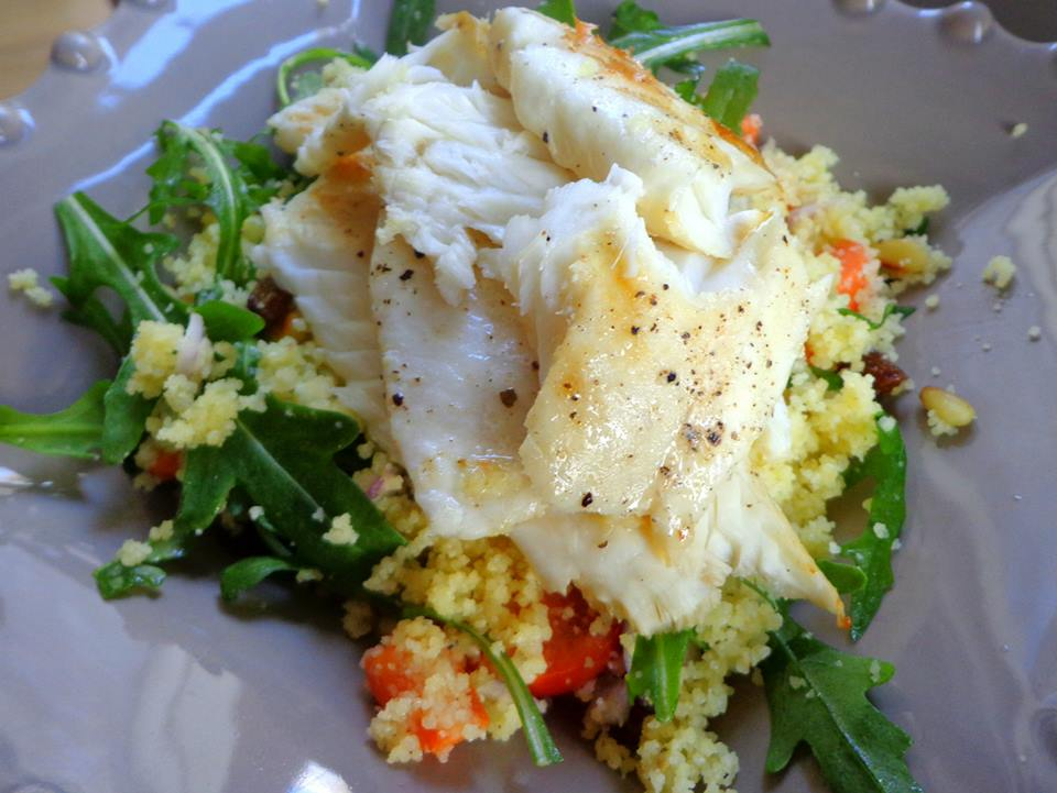 Cous cous tuna salad fish recipe panga for Best tuna fish salad