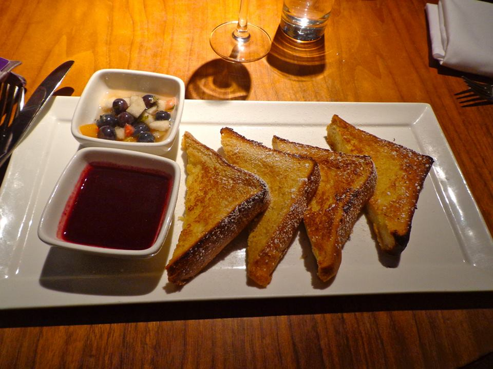 Restaurant South Village New York Brunch Asian Five Spice French Toast ...
