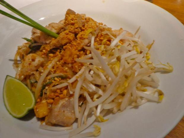 Kittichai Restaurant South Village New York Brunch Pad Thai Chicken