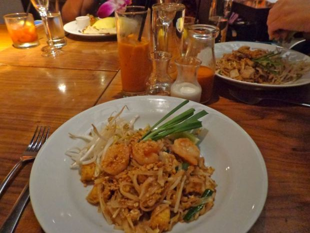 Kittichai Restaurant South Village New York Brunch Pad Thai