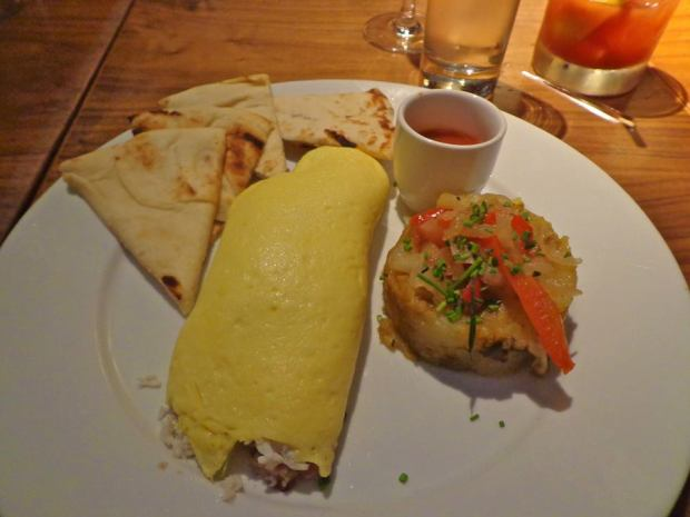 Kittichai Restaurant South Village New York Brunch Three Egg Omelette