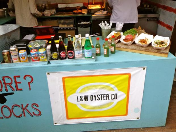 Madison Square Park Eats Food Festival New York L&W Oyster Co