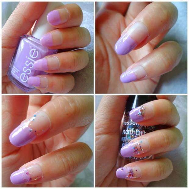 Nailart Nail Tutorial Glitter Jewels 1