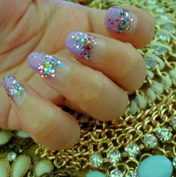 Nailart Nail Tutorial Glitter Jewels 3