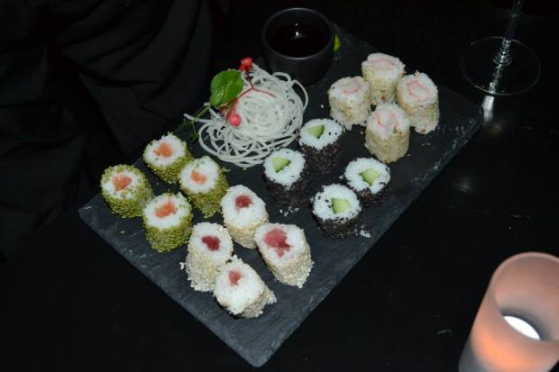 Skyybar fashion hotel sushi